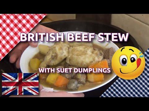 How to Cook British Stew & Dumplings