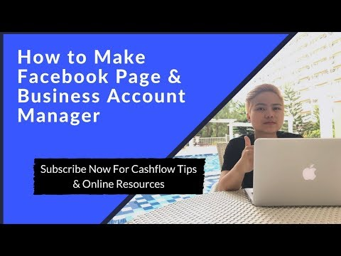 How to Make Facebook Page & Business Account Manager