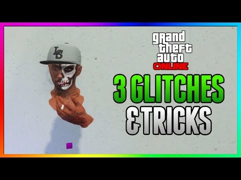 GTA 5 Online - 3 NEW GLITCHES (Secret Wallbreach, Open Cargobob & Invisible Body Glitch) 1.38/1.29