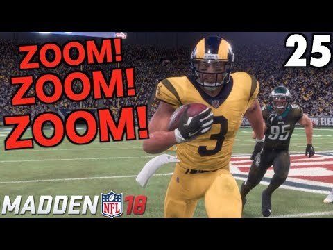 ZOOM PUTS THE TEAM ON HIS BACK! Madden 18 Career Mode #25