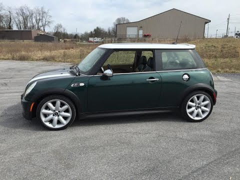 2006 Mini Cooper S Supercharged 1.6 Automatic Tour, Walk Around, Engine, Start Up