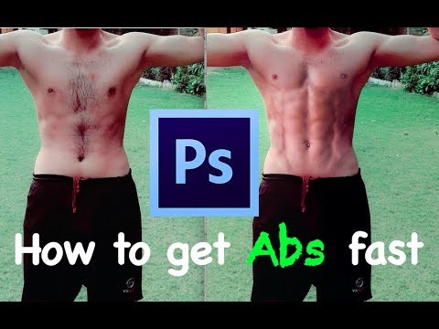 How to get abs with photoshop tutorial