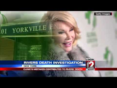 What killed Joan Rivers? Report cites series of errors at NY medical clinic