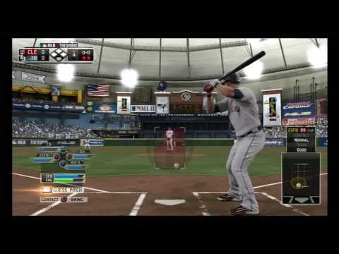 MLB 13: The Show - Cleveland Indians Vs. Tampa Bay Rays (2014 Rosters)