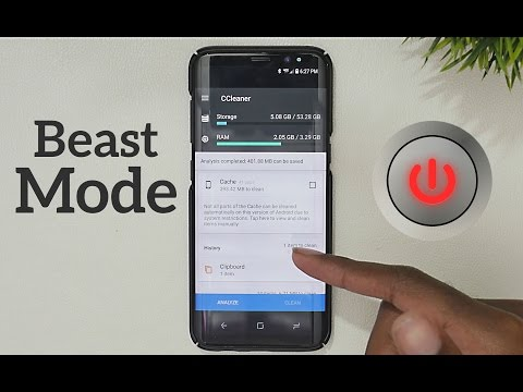 How to Activate Beast Mode on the Galaxy S8, S8+, and Note 8