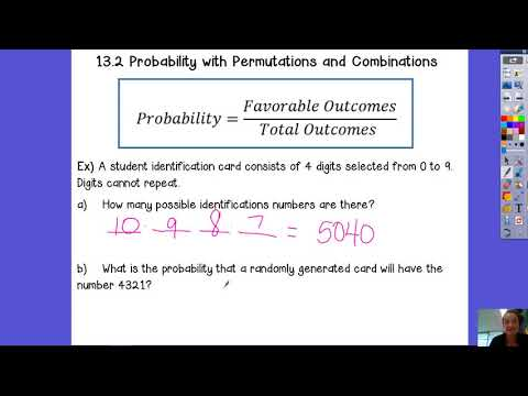 13.2 Probability with Permutations