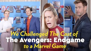Download The Avengers: Endgame Cast Try to Chronologically Order All 22 Marvel Movies Video