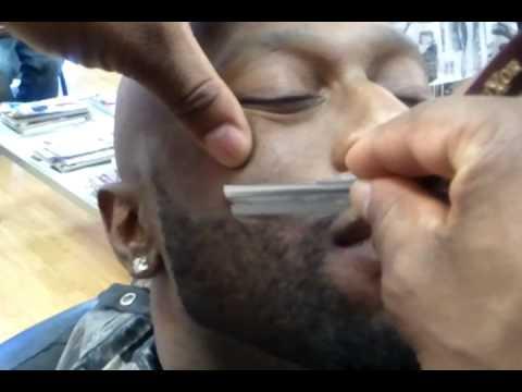 Beard Cut & Shape Up w/ Clippers & Razor Pt. 2  ft.  BIGG VAN