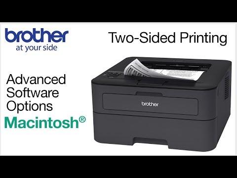 Duplex printing from  Macintosh® - Brother printers