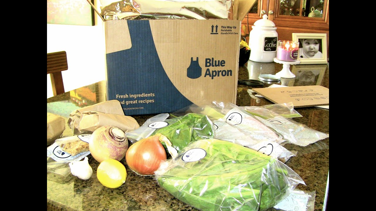 Meal Planning   Blue Apron   Cook with me!