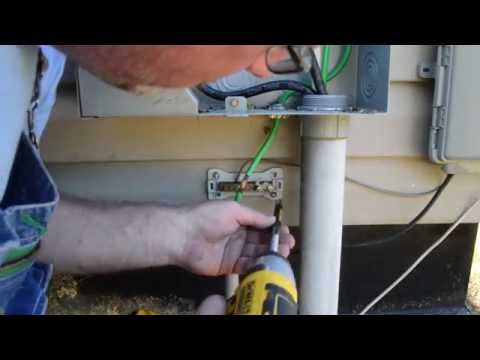 Removing a Electric Meter Box