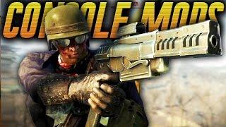 Fallout 4 Console Mods: CBJ-MS-PDW Nail Gun Location/Review (Fallout