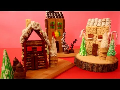 3 Easy Alternatives to the Classic Gingerbread House
