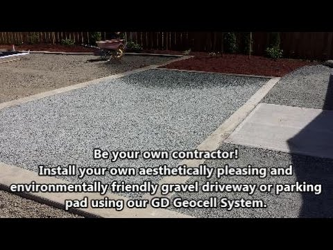 How to Install a Gravel Driveway or Gravel Parking Pad