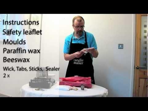 MakingYourOwnCandles.co.uk: Deluxe Candle Making Kit