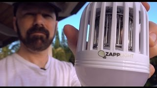 Download ZappLight Review: A Light Bulb Bug Zapper? Video
