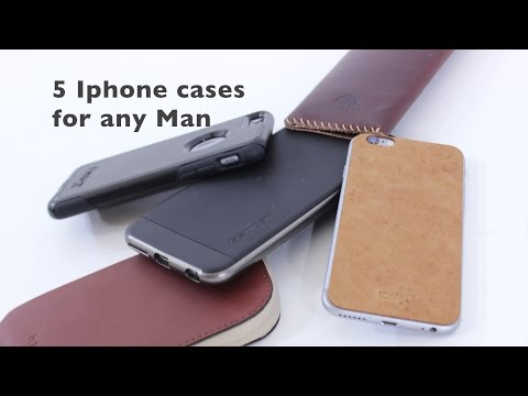 5 IPhone Cases for the Modern Gentleman