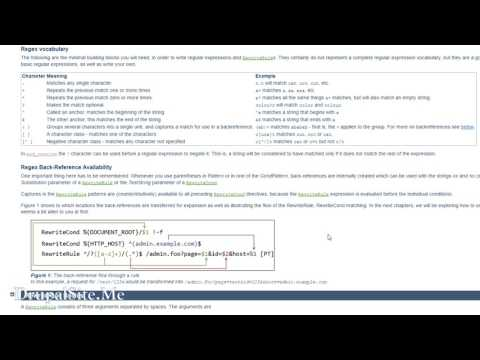 Drupal 8 SEO - Site redirect with .htaccess