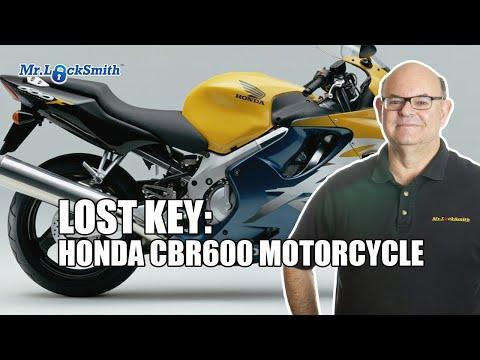 Lost Keys Honda CBR600 Motorcycle | Mr. Locksmith Video