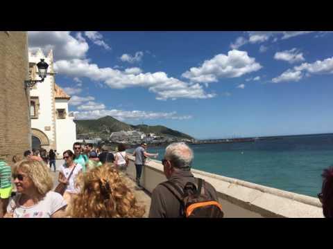 Day Trip Sitges- Spain June, 2016 - 4K