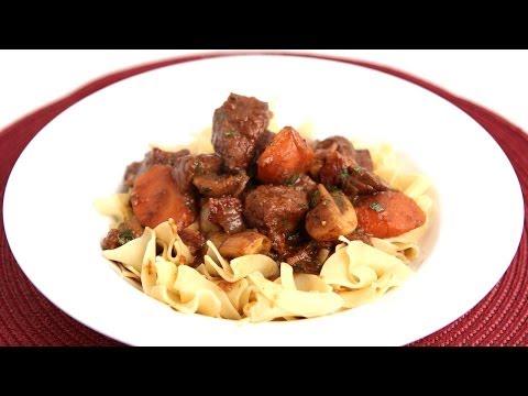 Beef Bourguignon Recipe - Laura Vitale - Laura in the Kitchen Episode 735
