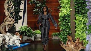 Michelle Obama Describes Malia