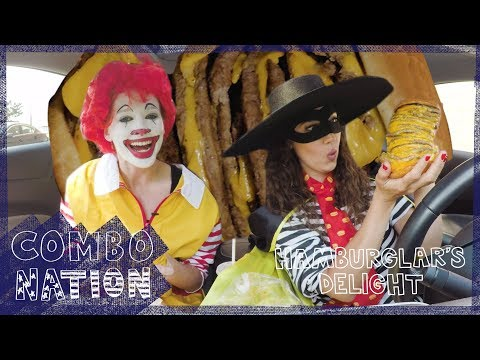 We Try McDonald's Hamburglar's Delight | COMBOnation