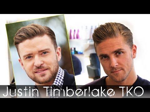 Justin Timberlake TKO Hair Tutorial | Men's Celebrity Hairstyle I Slikhaar TV