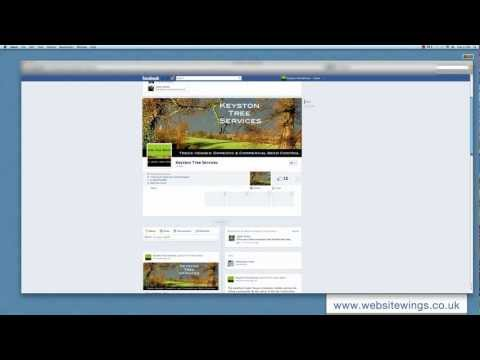 Facebook Pages layout - changes 2012