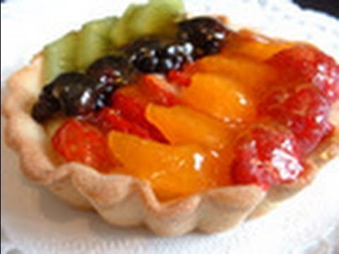 How to make a fresh fruit tart