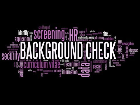 How to run a free background check on yourself