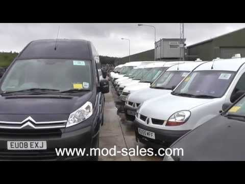 Cars, Vans & Minibuses For Sale by Online Auction Direct from the UK MoD
