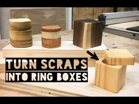 How to Make a Scrap Wood Ring Box