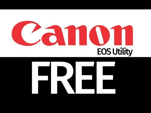 How to Install Canon Software without the CD - download install free Canon Utility EOS Mac Windows