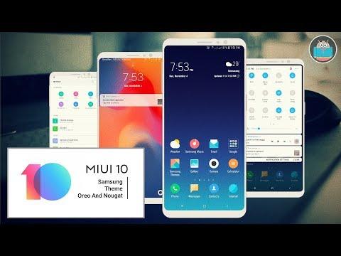 MIUI 10 V2 | Samsung Theme