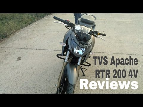 TVS Apache RTR 200 4V Test Ride Reviews pros & cons Coming soon.....