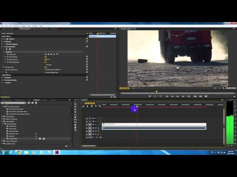 How to Blur Out a Moving Object in Adobe Premiere Pro CC 2014