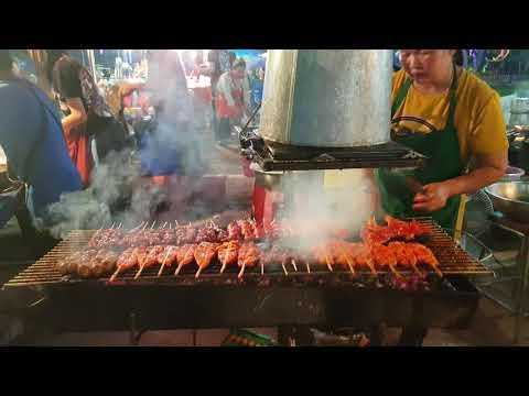 Thai grill station