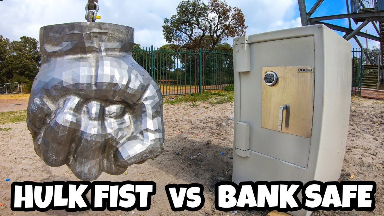 Can HULK'S FIST Break Into A BANK SAFE?