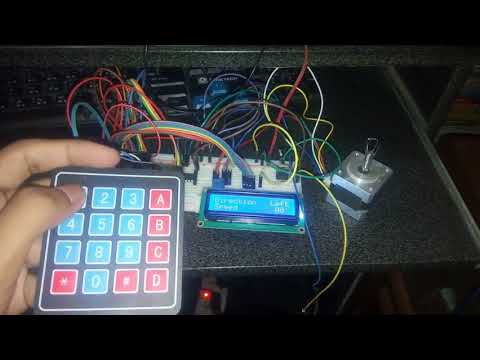 Stepper motor control using arduino with keypad lcd || variable speed || Full tutorial