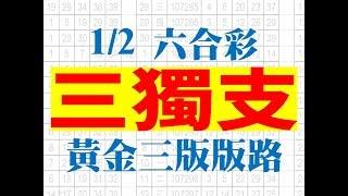 1月2日 六合彩版路 三獨支 完美三版版路 香港六合彩版路號碼預測 【六合彩財神爺】