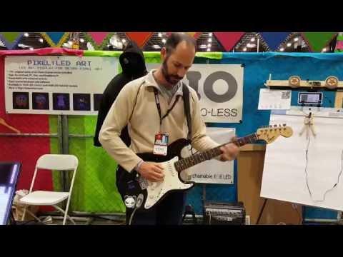 Maker Faire - Pixie Guitar