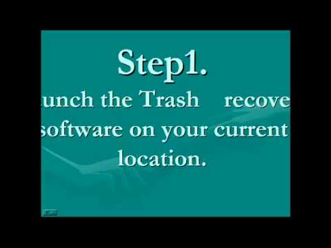 trash recovery software