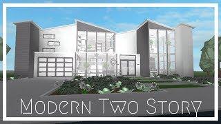 Read Desc Roblox Bloxburg | Modern Two Story House 89k ...