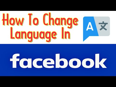 How To Change Language In Facebook App