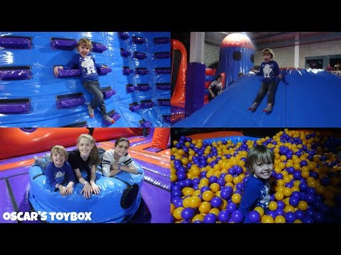 Bouncing Around at Planet Bounce Inflatable Park in Nottingham - Oscar's Toybox