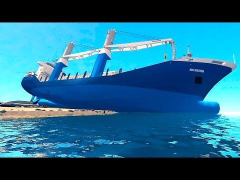 Grand Theft Auto IV - Cargo Vessel Big Ship