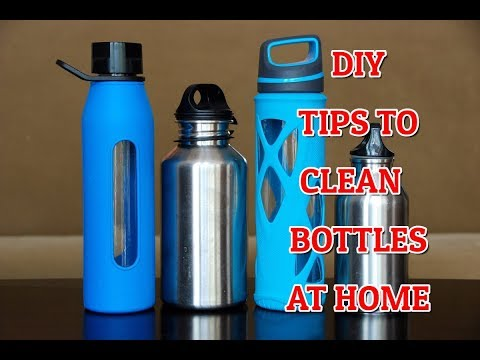 5 TIPS TO CLEAN WATER BOTTLES DIY | HOW TO CLEAN SMELLY WATER BOTTLES