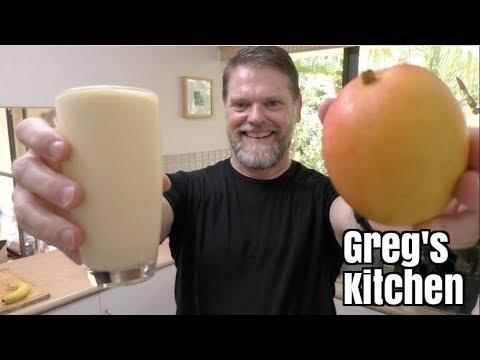 Mango Smoothie Drink Recipe - Greg's Kitchen