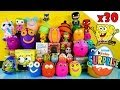 30 Kinder Surprise Play Doh Eggs Blind Box Toys Disney Princ